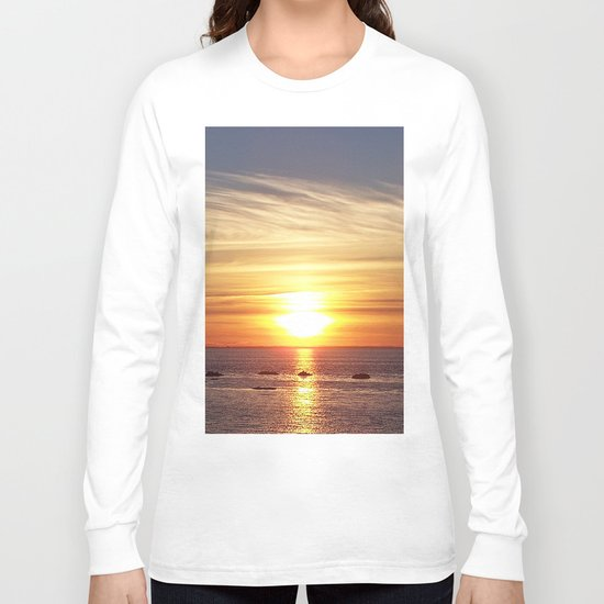 Gaspesie Sunset Long Sleeve T-shirt