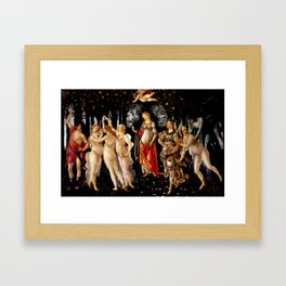 """Sandro Botticelli """"Primavera"""" Framed Art Print"""