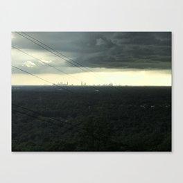 Atlanta Under a Storm Canvas Print