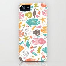 Retro Fish Slim Case iPhone (5, 5s)