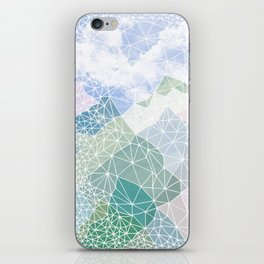 Multicolour Magic Mountains iPhone Skin