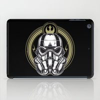 stormtrooper iPad Cases featuring Stormtrooper  by ItsMagicHere