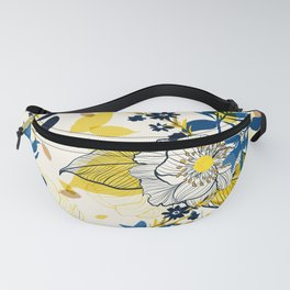 Flowers patten1 Fanny Pack