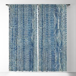 Ndop Cameroon West African Textile Print Blackout Curtain