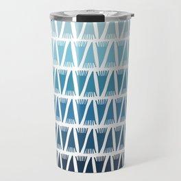 Tee Pee Blue Gradient Travel Mug