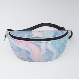 Colorful Water Collage Fanny Pack