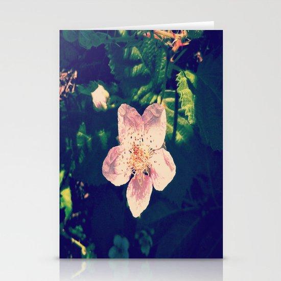 Blackberry Flower Stationery Cards