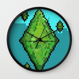 Sims Plumbob Wall Clock