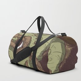 A Talk with Wise Monkey : Open Your Eye Duffle Bag