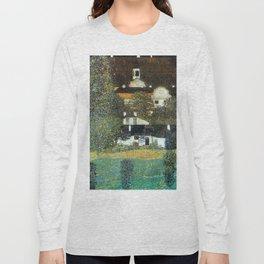 "Gustav Klimt ""Schloss Kammer on the Attersee II"" Long Sleeve T-shirt"