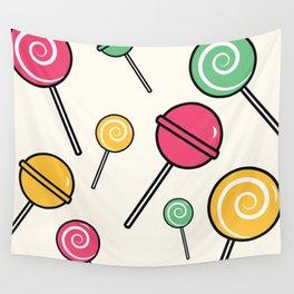 Lolli-lollipop Wall Tapestry