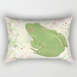 Little Frog Rectangular Pillow
