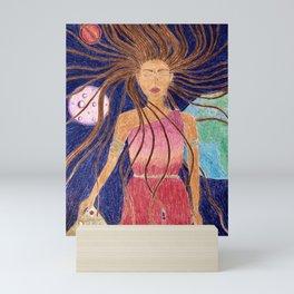 Miss Youniverse Mini Art Print