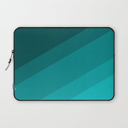 Colorblock in Turquoise Laptop Sleeve