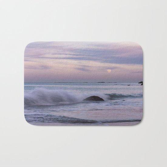 Pastel Ocean Moonrise Bath Mat
