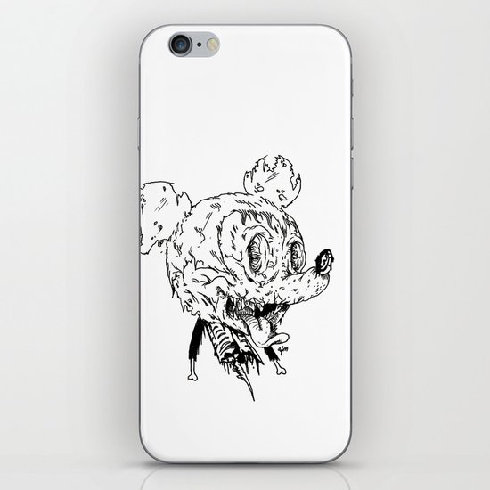Zombie Mickey iPhone & iPod Skin