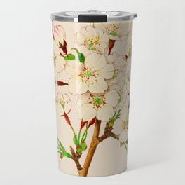 Yoshino Cherry Blossoms ~ Vintage Japan Art Travel Mug