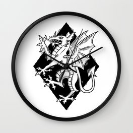 dragon armory Wall Clock