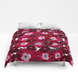 Flowers Overflowing Comforters