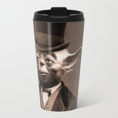 Portrait of Sir Yoda Travel Mug