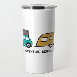 Adventure begins Travel Mug