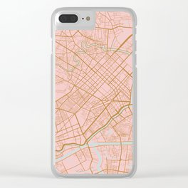 Ho Chi Minh map, Vietnam Clear iPhone Case