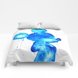 Blue Mouse Comforters