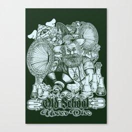 Old School Never Dies Canvas Print