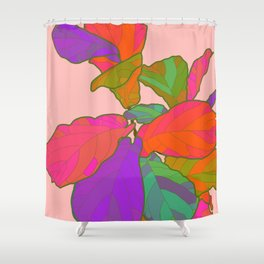 Funky Fiddle Shower Curtain