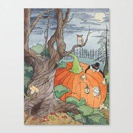 Peter the Pumpkin Eater Canvas Print