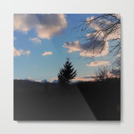 UNIQUE IN THE FOREST Metal Print