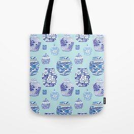 Chinoiserie Ginger Jar Collection No.3 Tote Bag