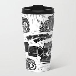 Weapons Of Mass Creation - Photography (blockprint) Metal Travel Mug
