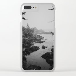 Coastline on the Wild Pacific Trail Clear iPhone Case