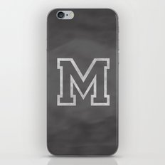 Letter M iPhone & iPod Skin