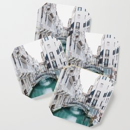 The Floating City - Venice Italy Architecture Photography Coaster