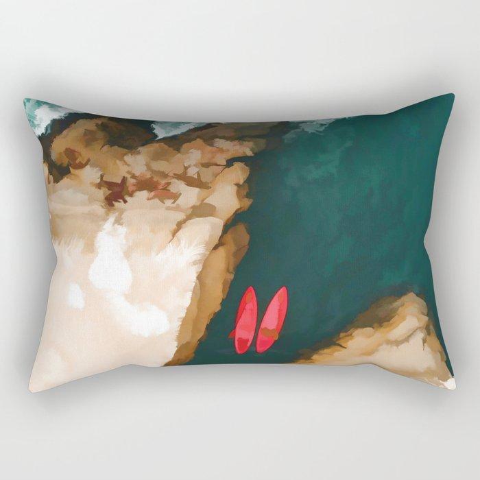 Top view Rectangular Pillow