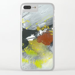 Colours of my mind by Australian Artist Vidy Potdar Clear iPhone Case