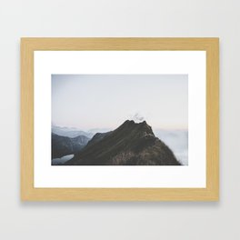 path - Landscape Photography Framed Art Print