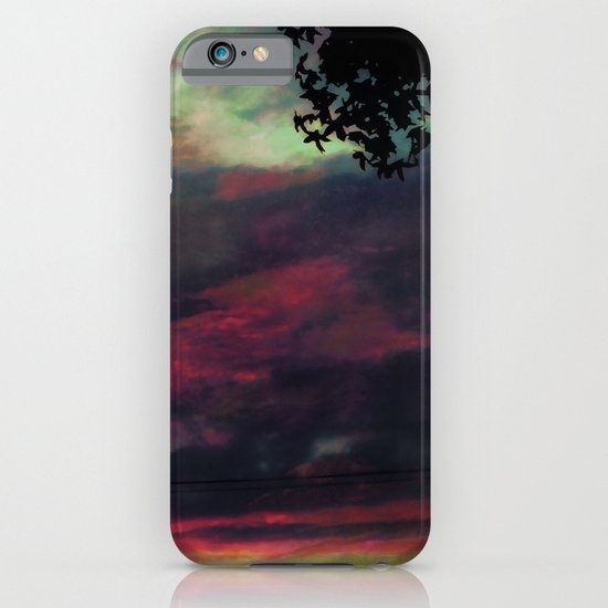 Thick as the Day's End iPhone & iPod Case