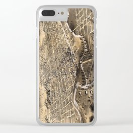 Fort Wayne - Indiana - 1868 Clear iPhone Case
