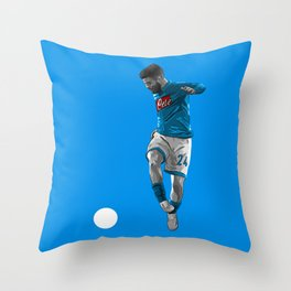 Lorenzo Insigne - Napoli Throw Pillow