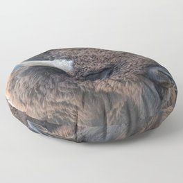 Thank you  buyers - In The Presence Of Bison Floor Pillow