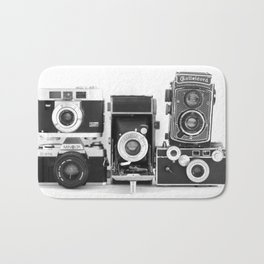 Vintage Camera Collection Bath Mat