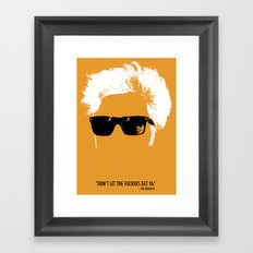 Jim Jarmusch Hair Framed Art Print