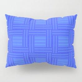 Elour Blue Tile Pillow Sham