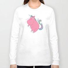 Super Horse... Unicorn Dreams. Long Sleeve T-shirt