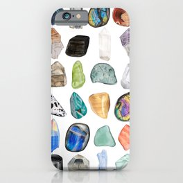 Illuminated Structure: Mineral Party 2 iPhone Case
