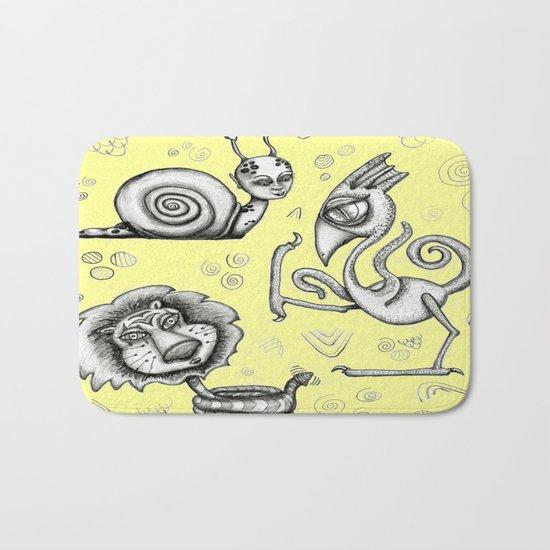 Creature Feature Bath Mat