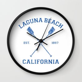 Laguna Beach California Vacation Wall Clock
